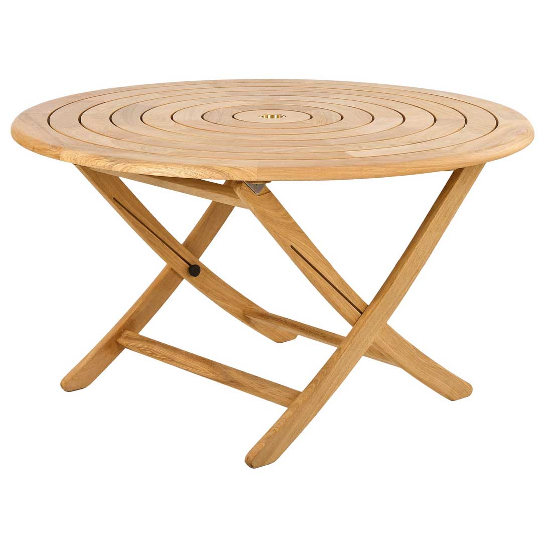 Alexander rose roble bengal folding table for Table exterieur 3m
